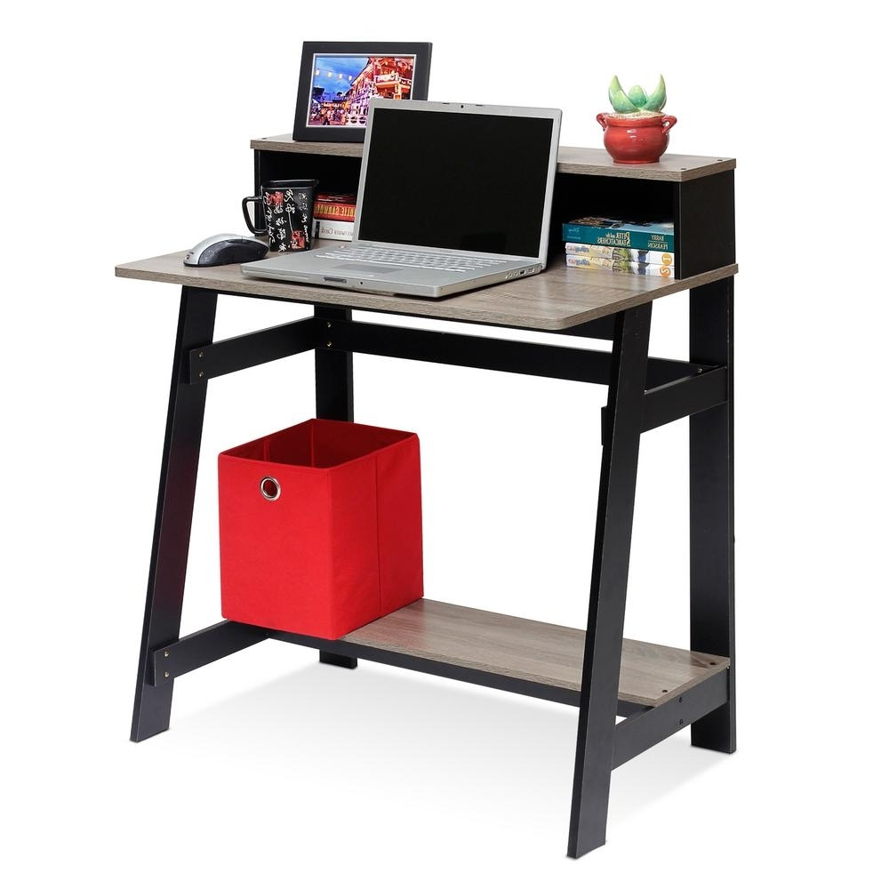 Widely Used Computer Desks Under $500 For Wood – Gray – Desks – Home Office Furniture – The Home Depot (View 6 of 20)