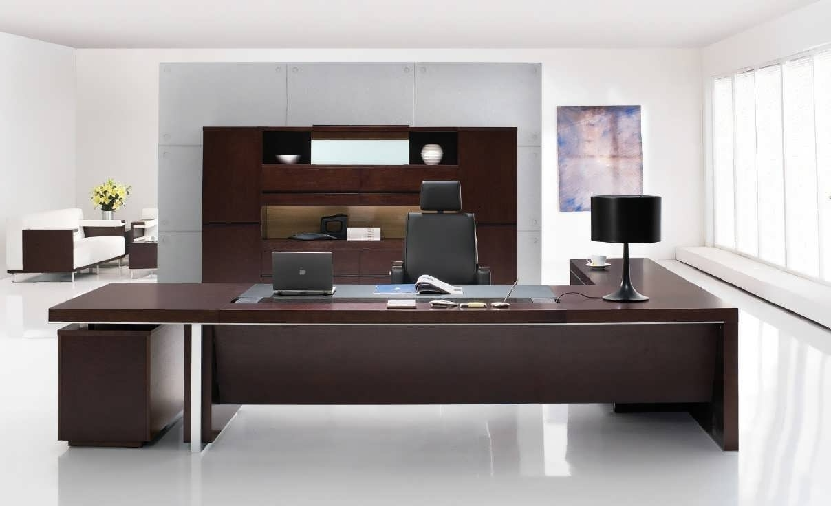 Widely Used Contemporary Executive Office Chairs Intended For Office Desk : Office Desk Accessories Corner Office Desk Executive (View 20 of 20)
