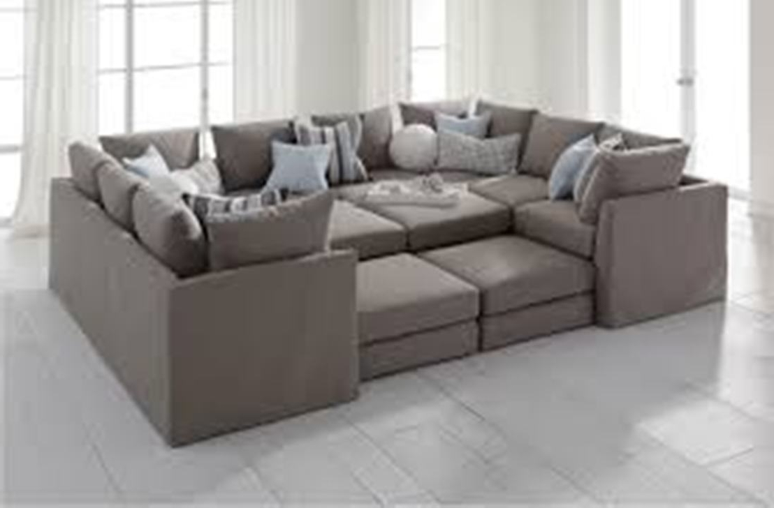 Widely Used Deep Seating Sectional Sofas Pertaining To Sectional Sofa : Deep Seated Sectional Furniture Sectional Couch (View 20 of 20)