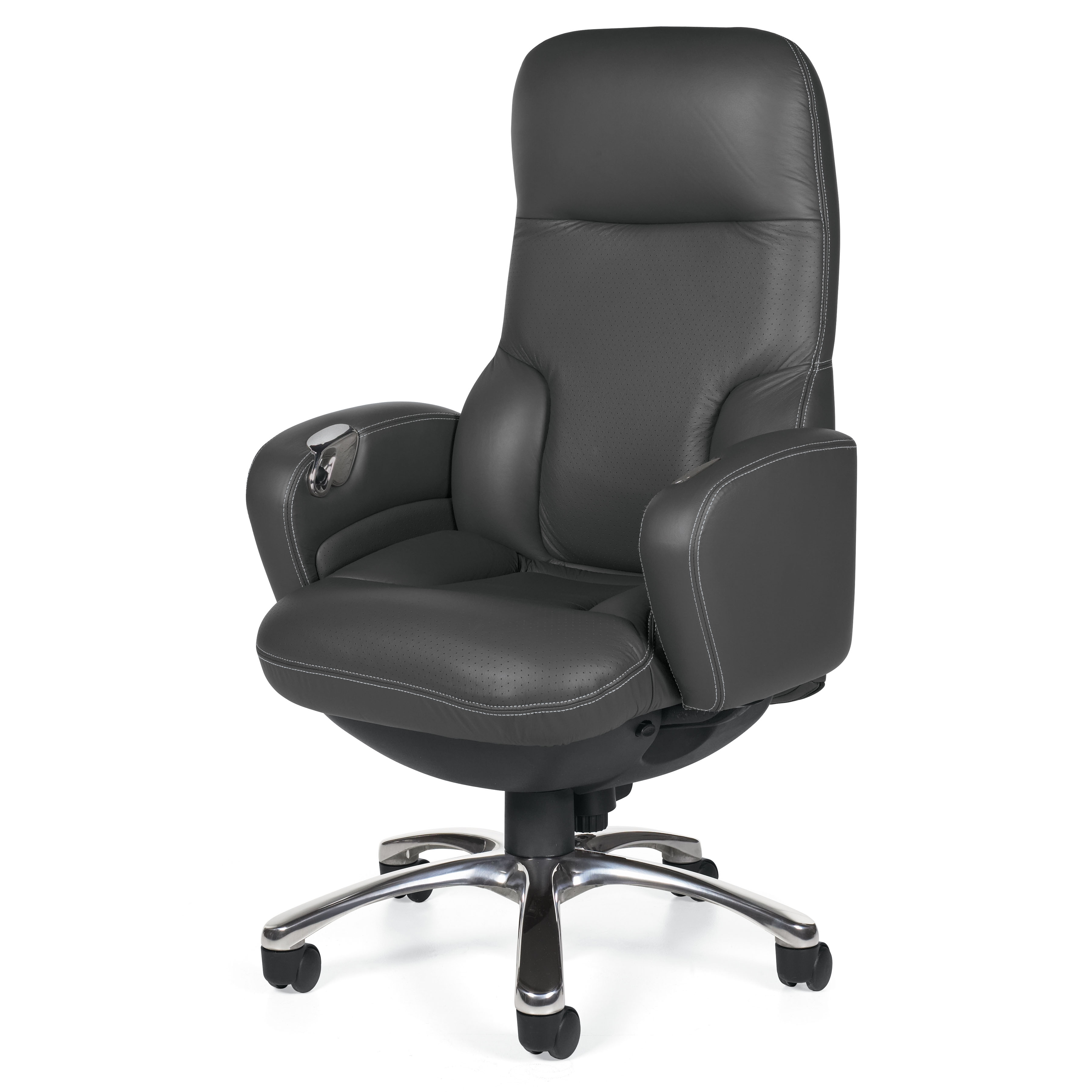 Widely Used Executive Office Chairs With Footrest With Office Chair Footrest Attachment Lean Back Office Chair Laptop (View 13 of 20)