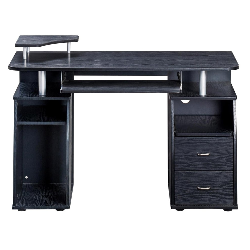 Widely Used Executive Style Computer Desk – Free Shipping Today – Overstock Inside Executive Computer Desks (View 13 of 20)