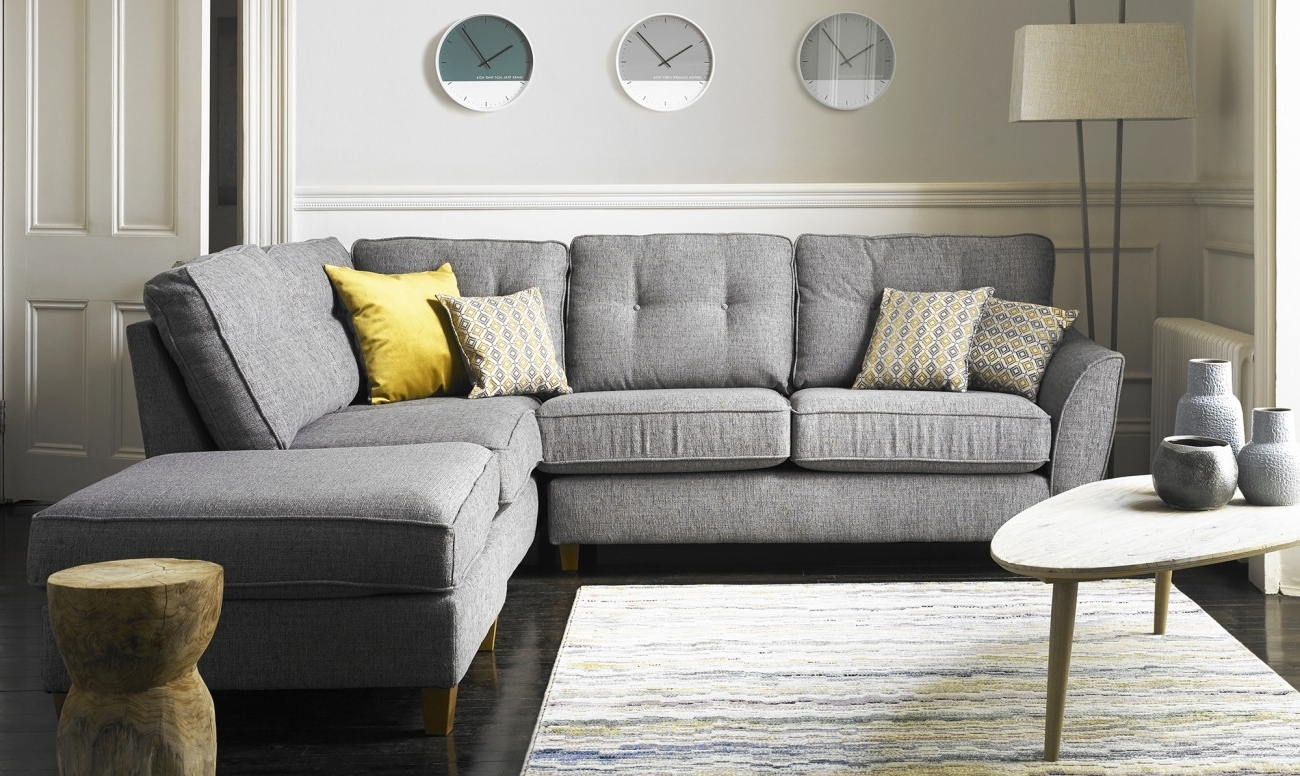Widely Used Fabric Corner Sofas For Sale At Fishpools With Regard To Fabric Corner Sofas (View 16 of 20)