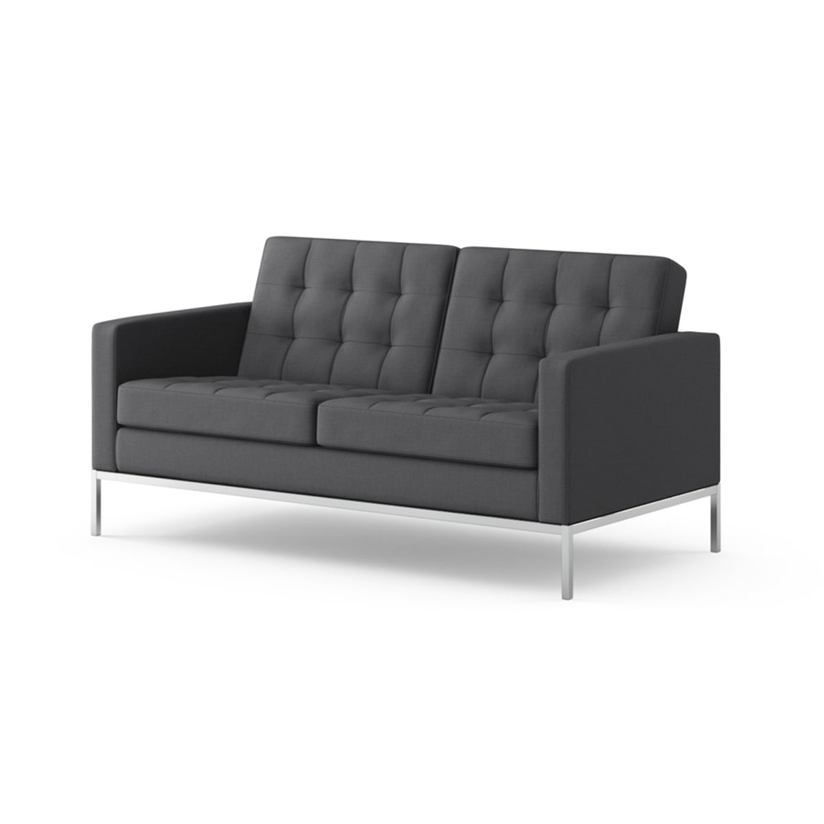 Widely Used Florence Sofas And Loveseats With Regard To Knoll Florence 2 Seats Sofa In The Shop (View 20 of 20)