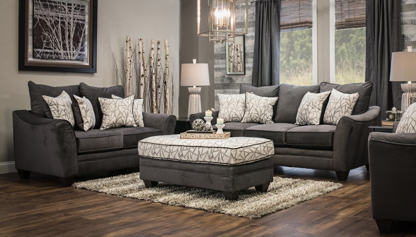 Widely Used Furniture: Home Zone Furniture Ottoman Coffee Table And Grey Inside Home Zone Sectional Sofas (View 4 of 20)