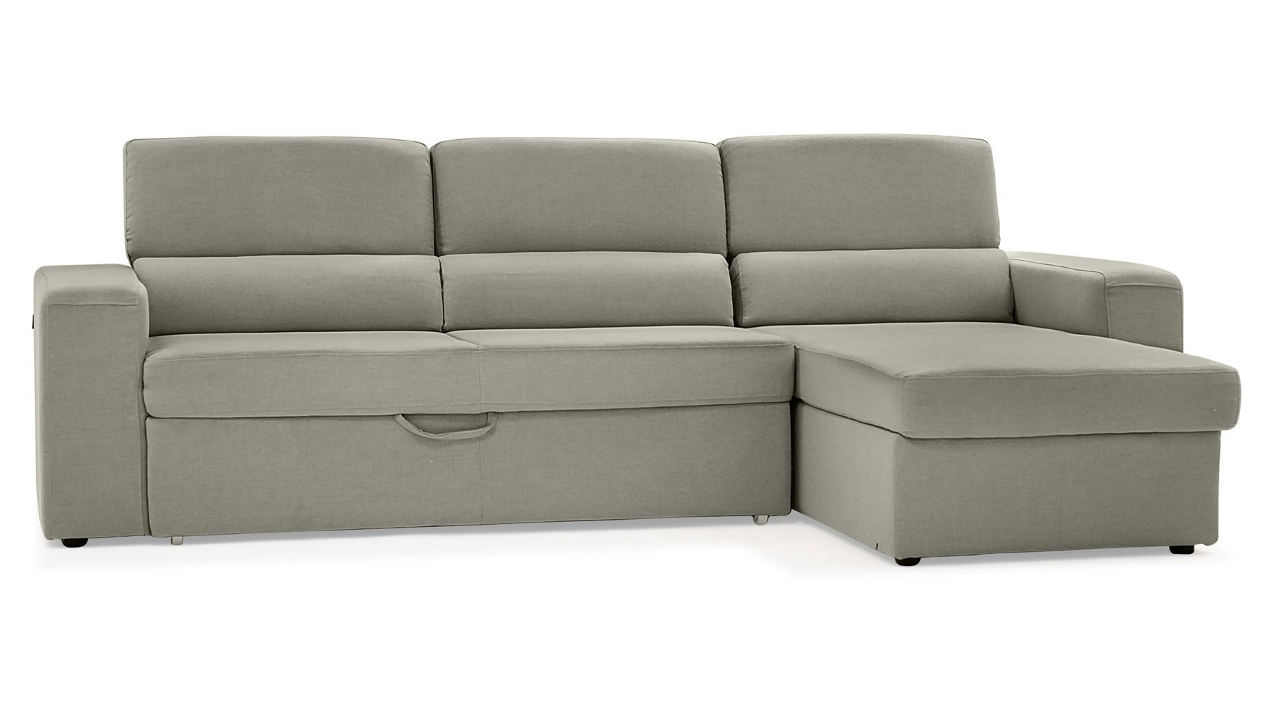 Widely Used Gray Clubber Sleeper Sectional Sofa (View 9 of 20)