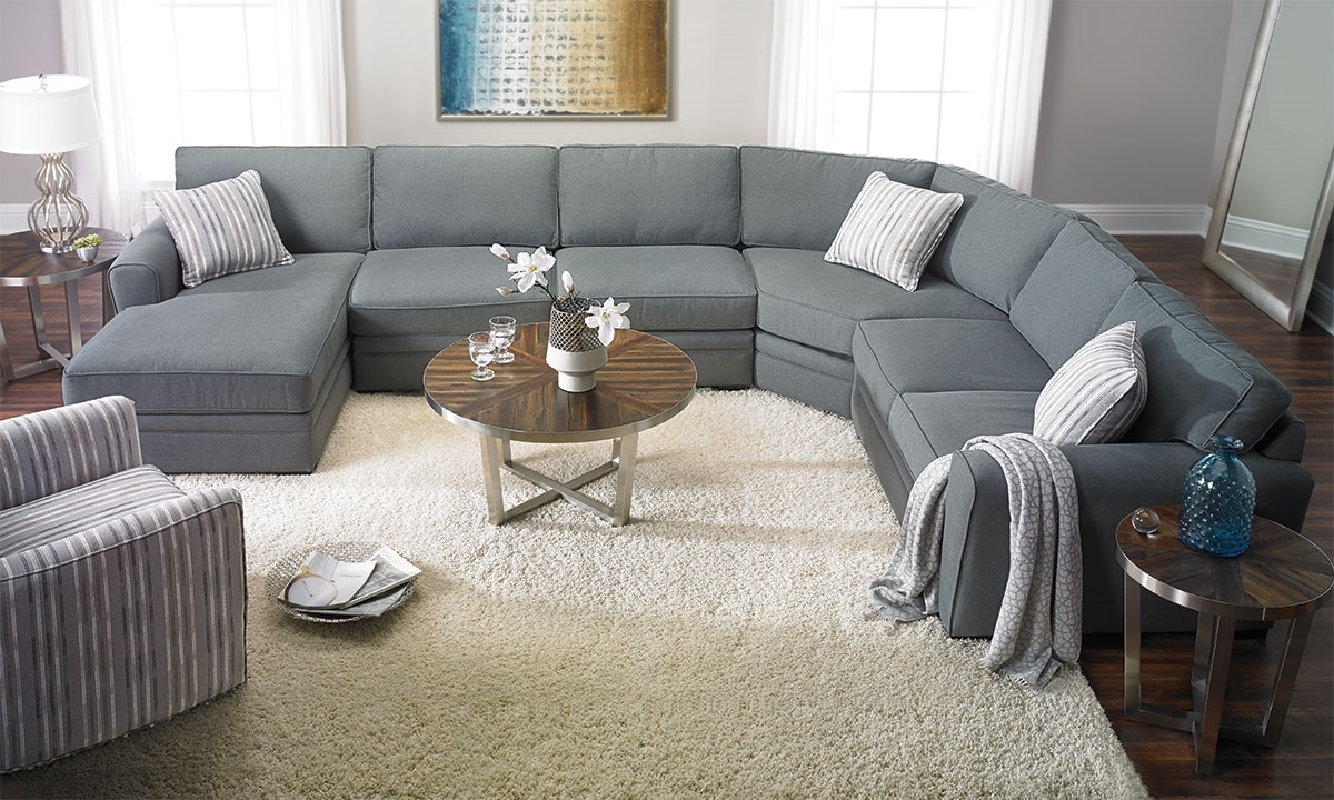 Widely Used Haynes Sectional Sofas With Artemis Room Size Sectional With Chaise (View 19 of 20)