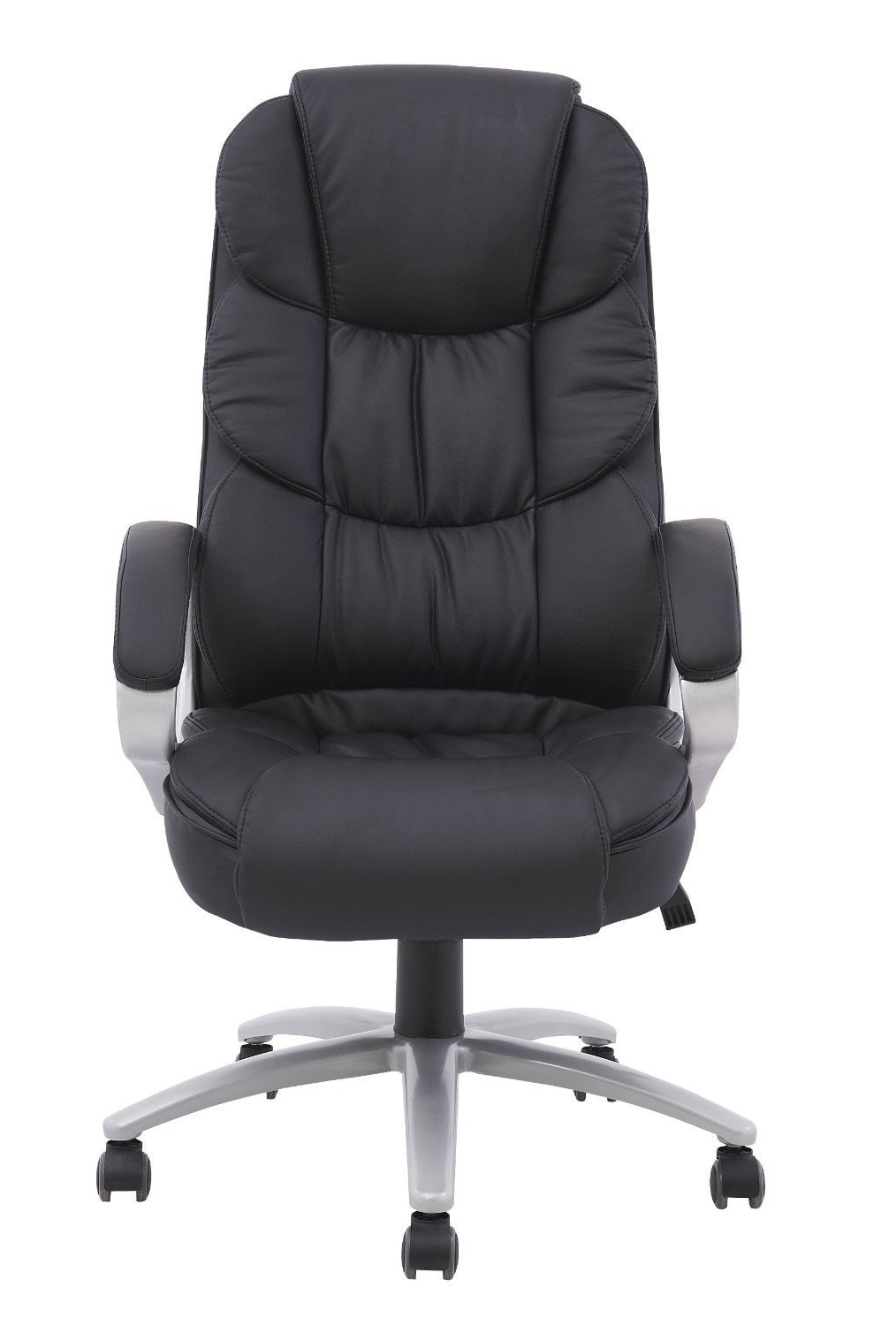 Widely Used High Back Executive Leather Computer Chair Unboxing / Setup – Youtube With Leather Executive Office Chairs (View 20 of 20)