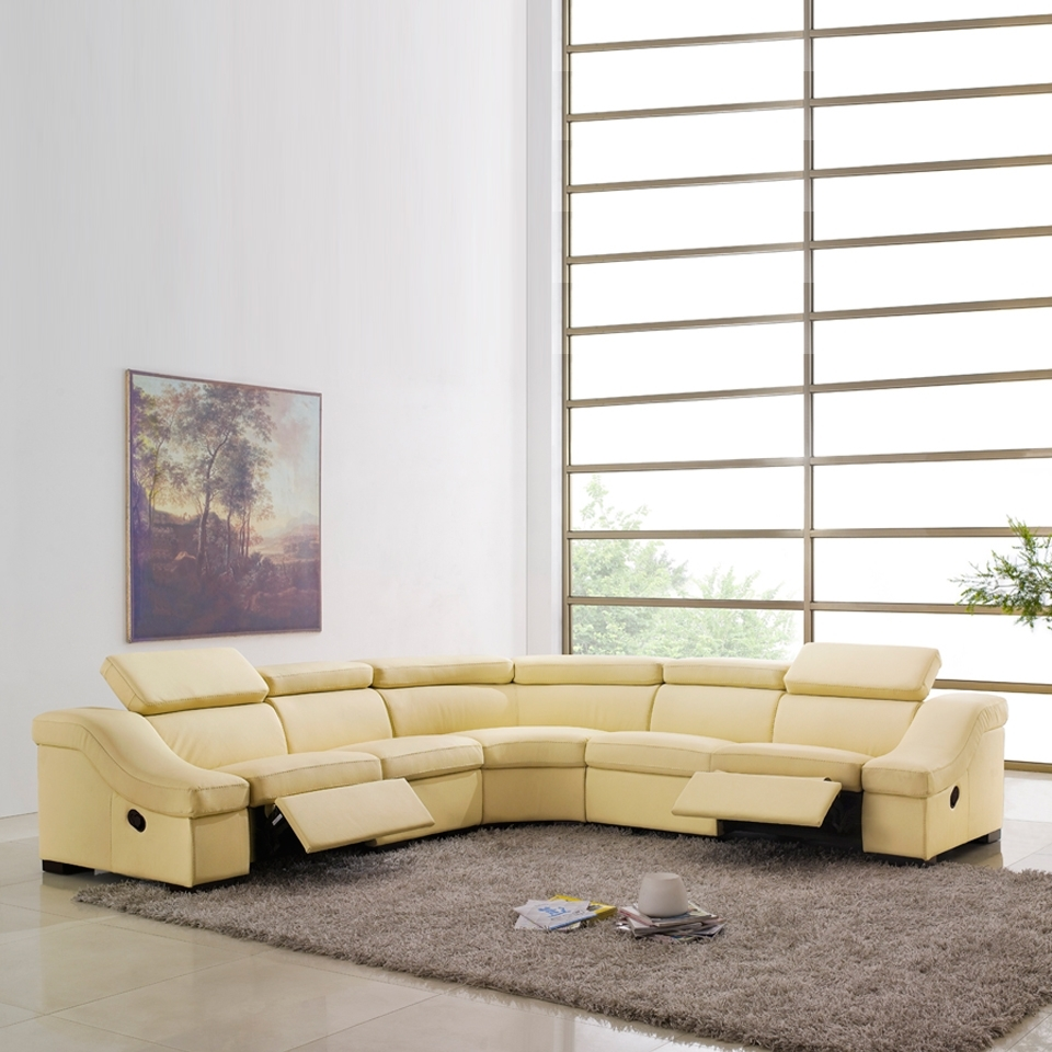 Widely Used Johnny Janosik Sectional Sofas With Brown Reclining Sectional Sofa — Fabrizio Design : Cool Modern (View 20 of 20)