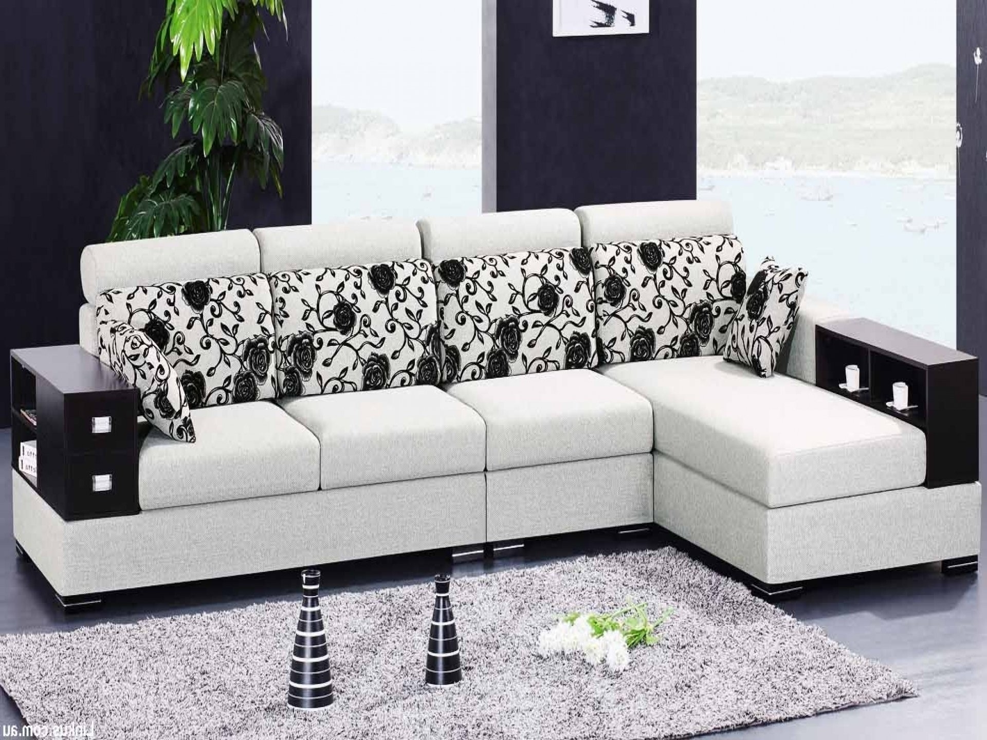 Widely Used L Shaped Sofas Throughout L Shape Sofa Set Designs 24 With L Shape Sofa Set Designs Brostuhl (View 20 of 20)