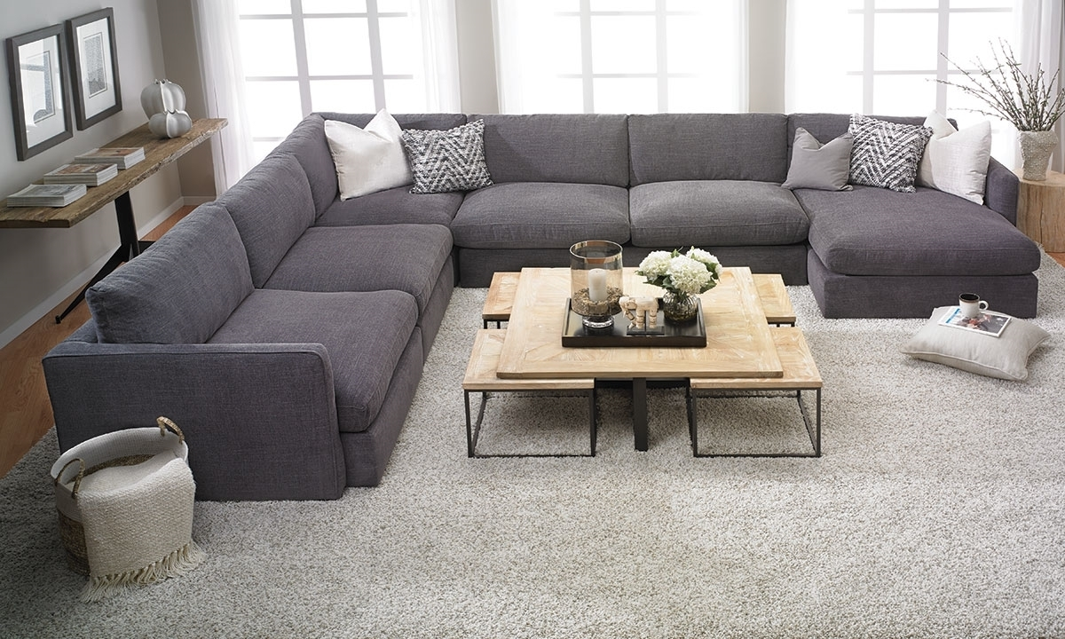 Widely Used Lincoln Park Handmade Modular Sectional (View 20 of 20)