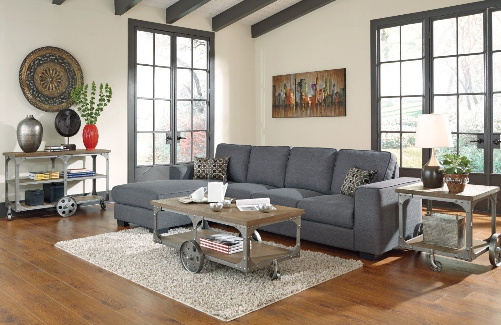 Widely Used Living Room : Brown Sofa Decor Sectional Couch Design Ideas Living Regarding Sectional Sofas Decorating (View 19 of 20)