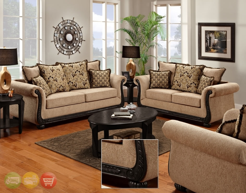Widely Used Living Room Sofa And Chair Sets Within Get Yourself A Complete Chic Living Room Furniture Set (Gallery 8 of 20)