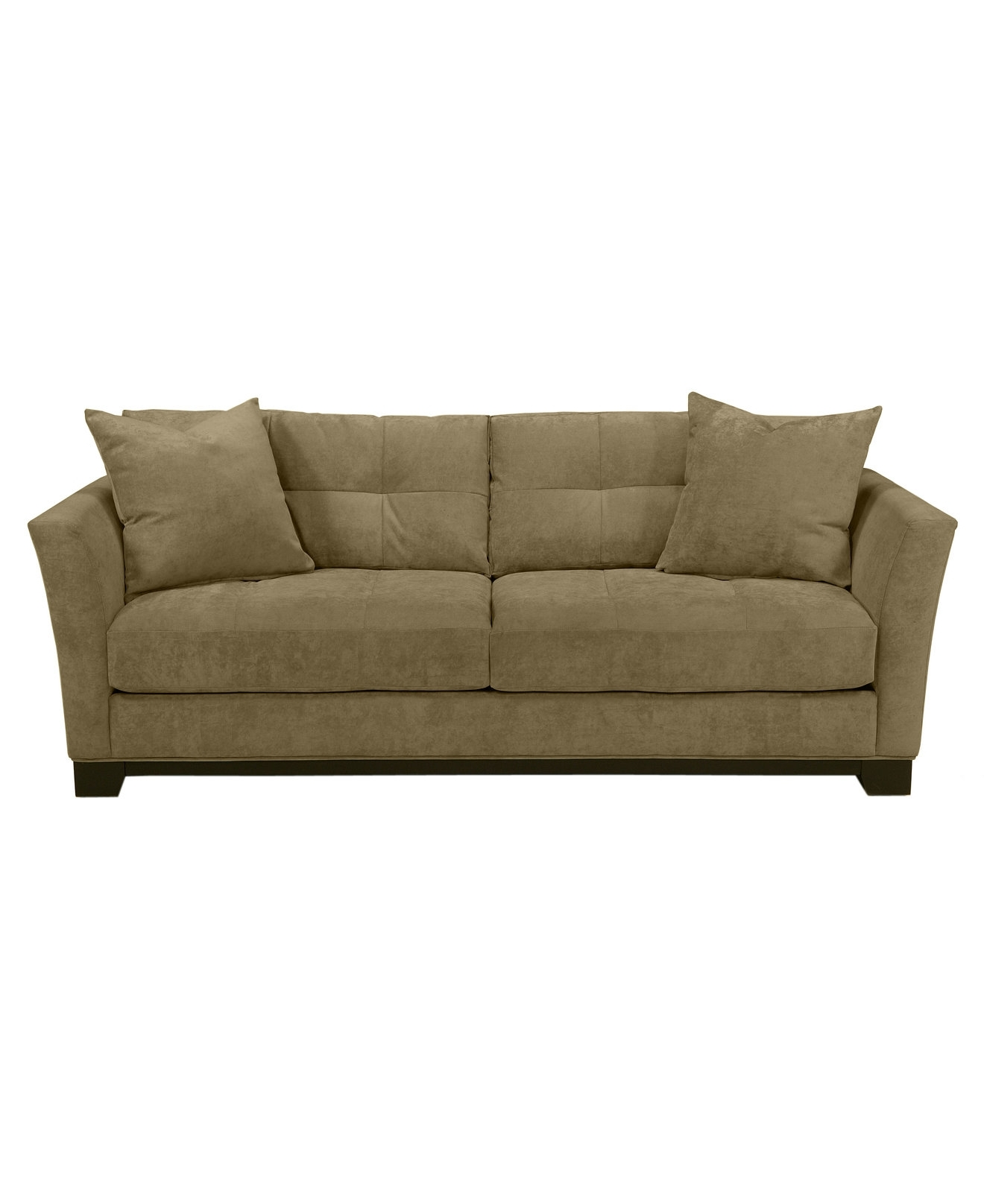 Widely Used Macys Sofas Regarding 90 Wide Elliot Fabric Microfiber Queen Sleeper Sofa Bed – Couches (View 20 of 20)