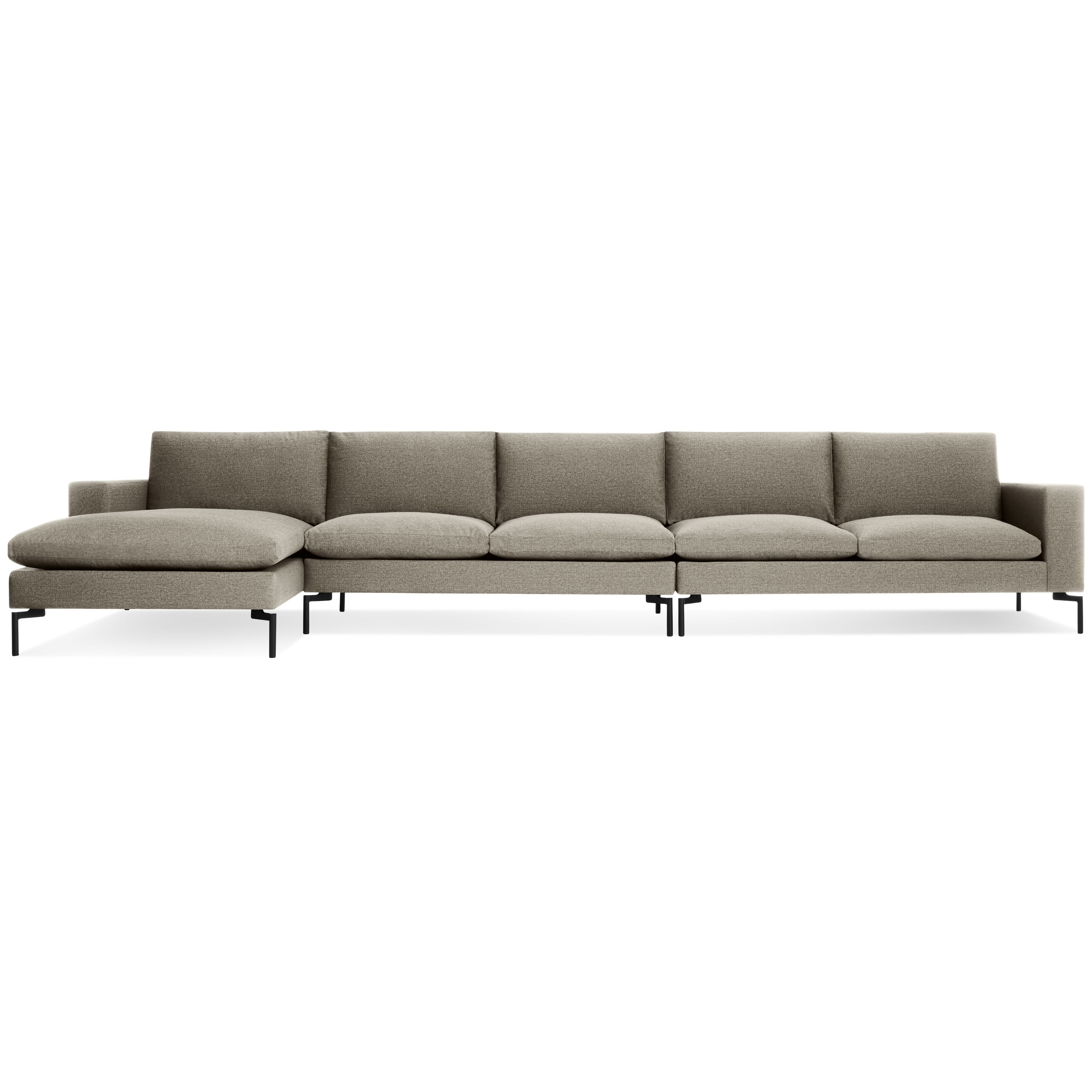 Widely Used New Standard Medium Sectional Sofa – Modern Sectional Sofas (View 15 of 20)
