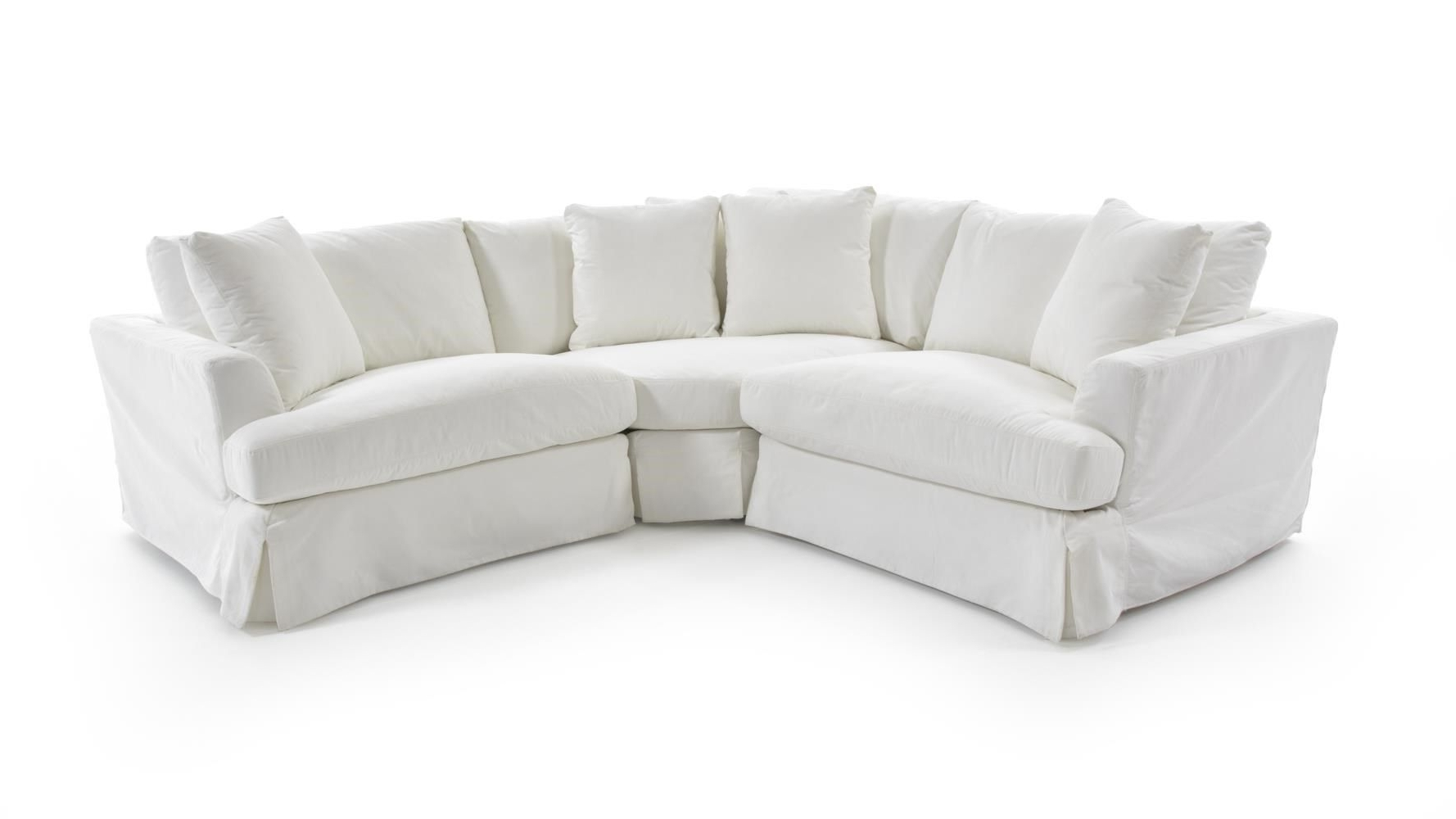 Widely Used Newmarket Ontario Sectional Sofas Throughout 1300 Three Piece Corner Sectional Sofa With Slipcoversynergy (View 19 of 20)