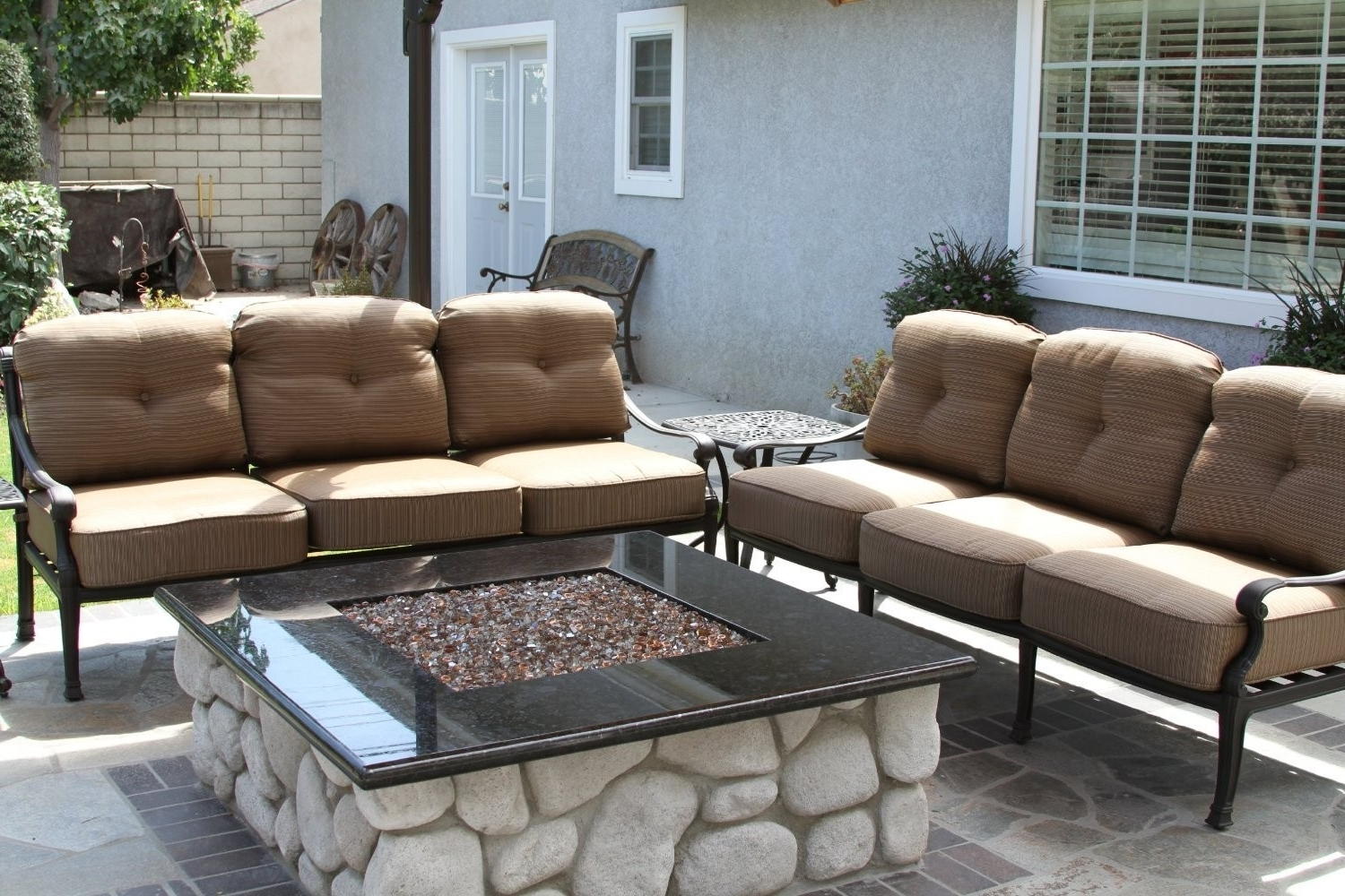 Widely Used Patio Sofas Regarding Sofas & Sectionals – The World Of Patio – Selling Dining Sets (View 11 of 20)