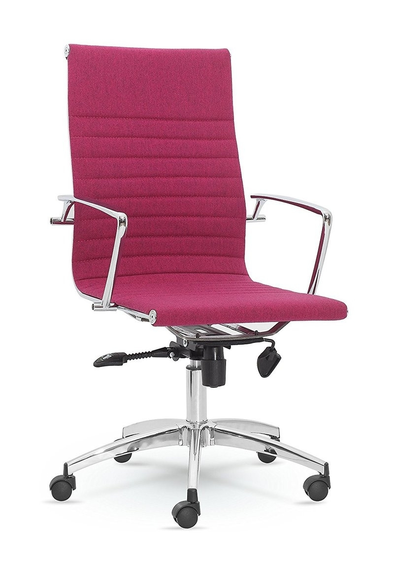 Widely Used Pink Executive Office Chairs Intended For Pink Executive Office Chair – Design Desk Ideas (View 18 of 20)