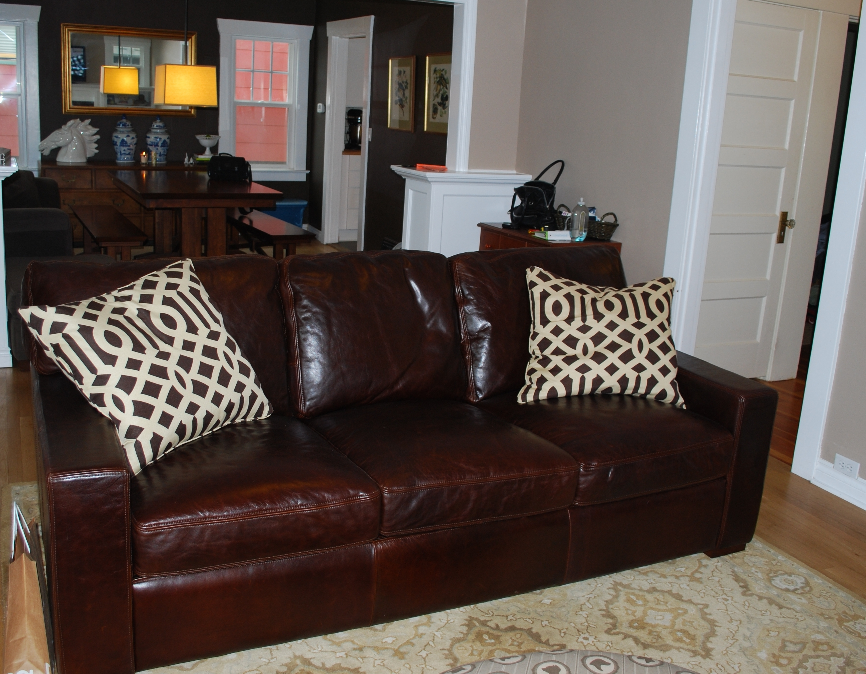 Widely Used Restoration Hardware Sectional Sofas In Restoration Hardware Maxwell Leather Sofa – Fjellkjeden (View 16 of 20)