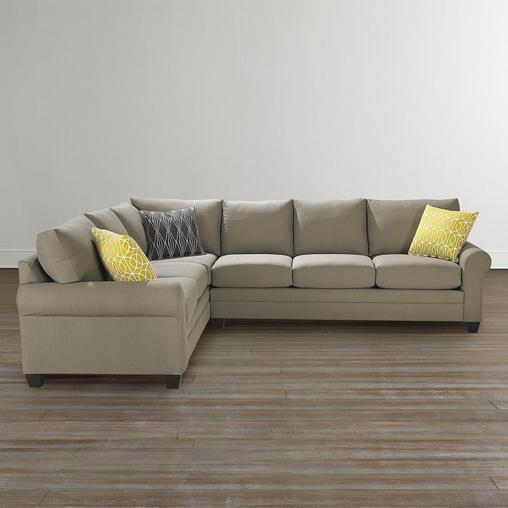 Widely Used Sectional Sofas At Bassett For L Shaped Sectional Sofa (View 20 of 20)