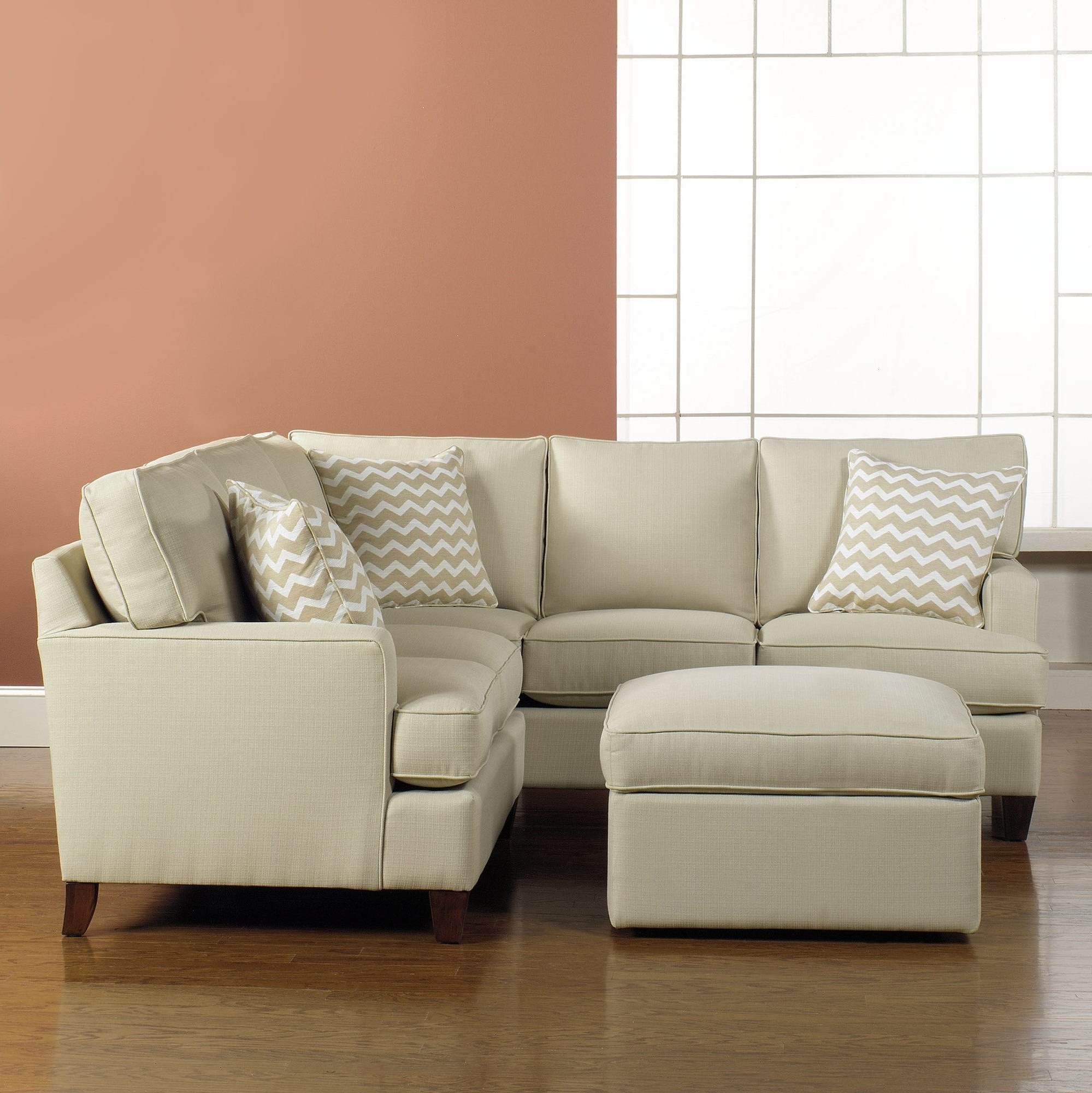 Widely Used Sectional Sofas For Small Places Within Sofa : Small 2 Piece Sectional Sofa Comfy Sectionals For Small (View 20 of 20)