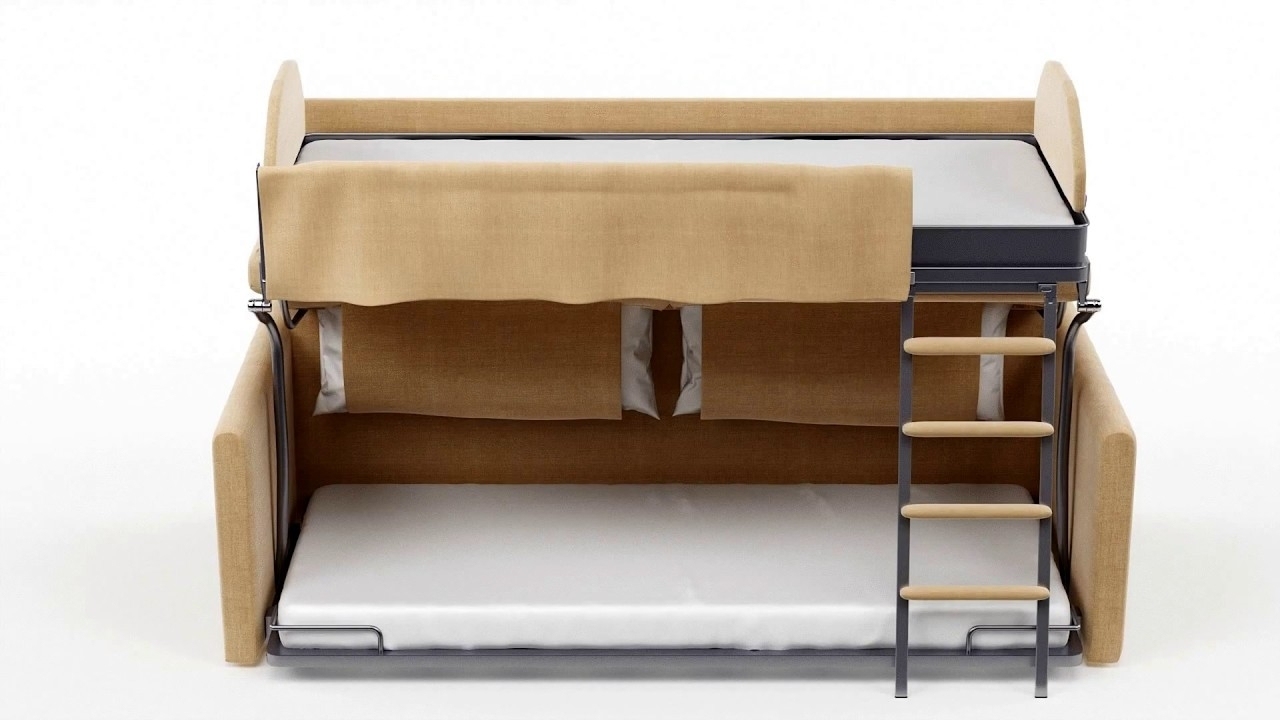 Widely Used Sofa Bunk Beds Pertaining To Slumbersofa Duo – Sofa Bunk Bed – Youtube (View 19 of 20)