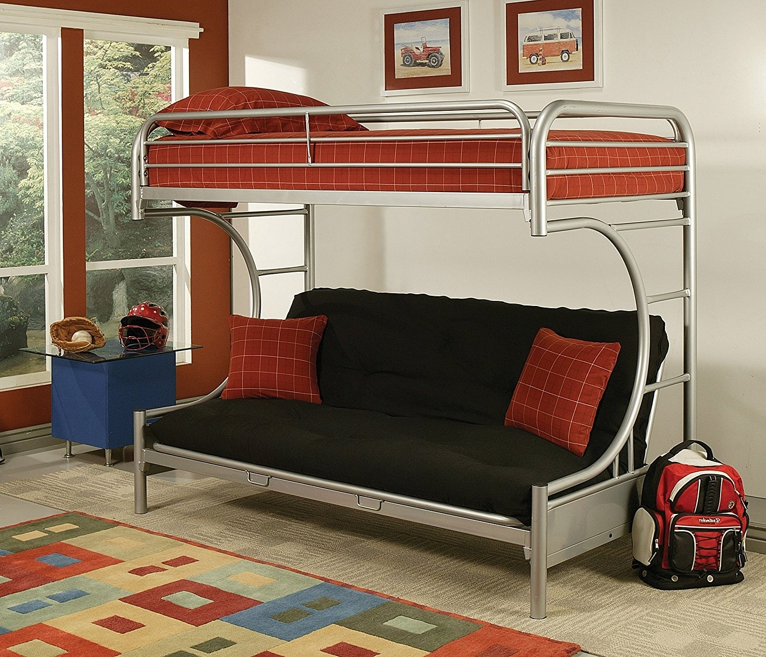 Widely Used Sofa Bunk Beds Regarding Bunk Bed Sofa (View 20 of 20)
