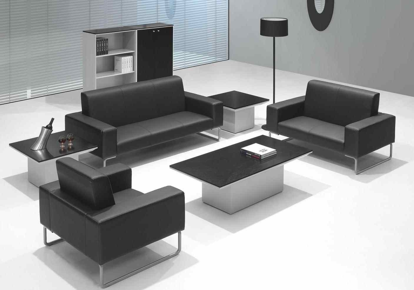 Widely Used Sofa : Business Casual Boss Furniture Wooden Business Sofa Office With Regard To Office Sofas (Gallery 8 of 20)