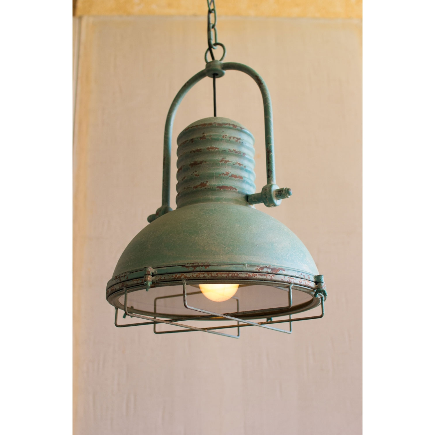 Featured Photo of Turquoise Drum Chandeliers