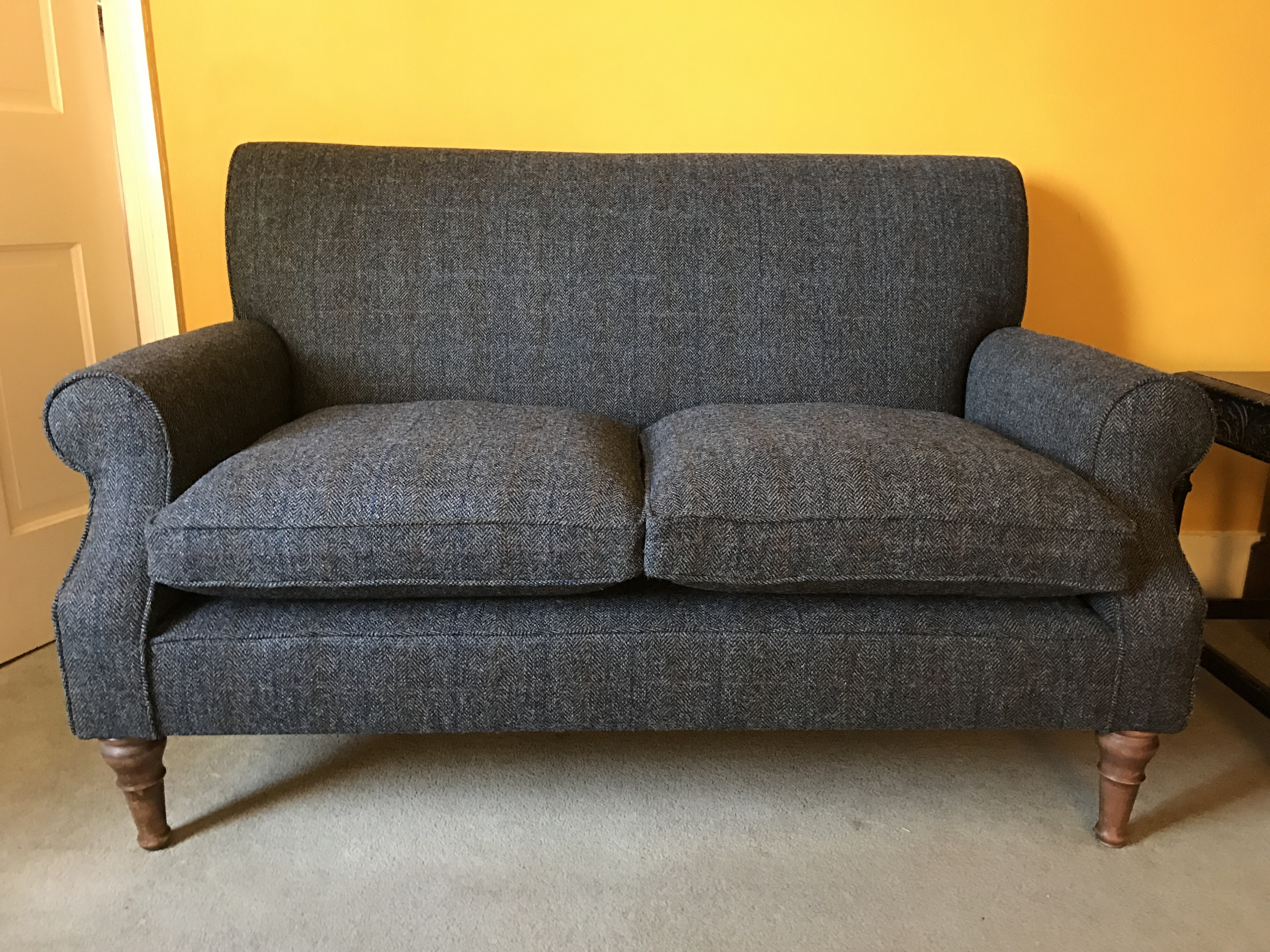 Widely Used Tweed Fabric Sofas Throughout From The Outer Hebrides To East Sus Gallery