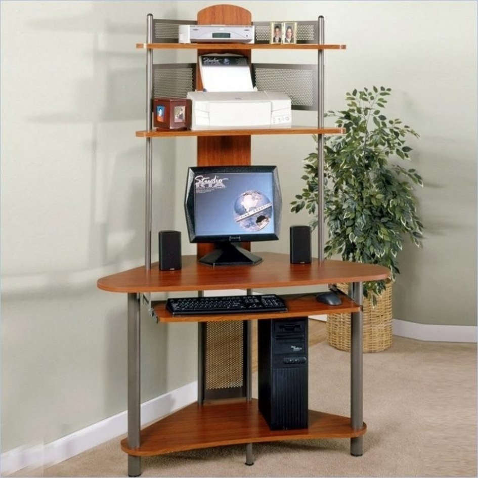 Widely Used Wall Desk Simple Desk Small Computer Table Oak Desk Tall Desk L Intended For Tall Computer Desks (View 20 of 20)