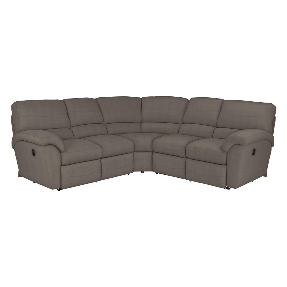Widely Used Z Boy Reese Reclining Sectional Within Lazy Sofas Gallery 9 Of