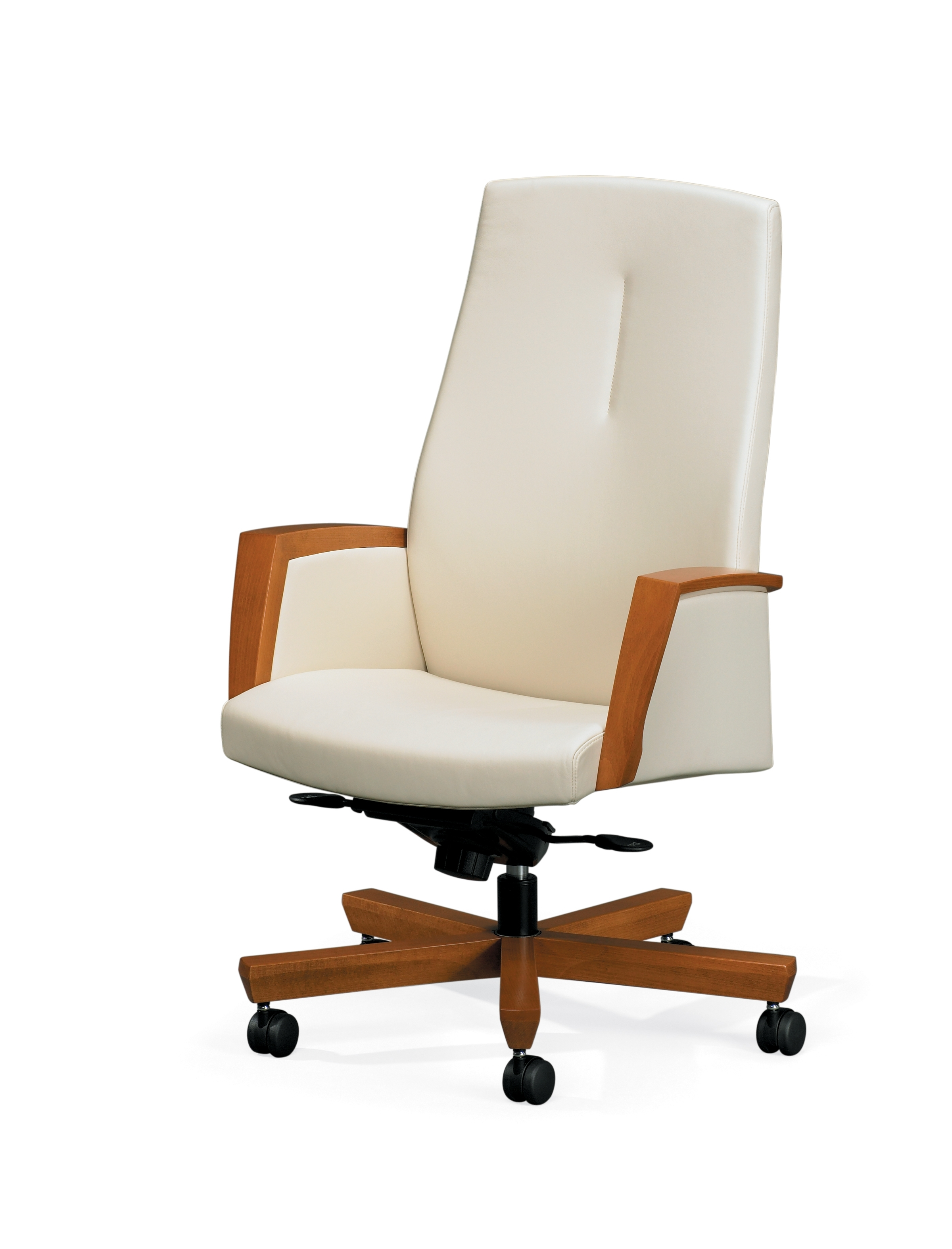 Wood And Leather Executive Office Chairs In 2018 Paoli Diverge Office Chair – Contemporay And Transitional Seating (View 5 of 20)