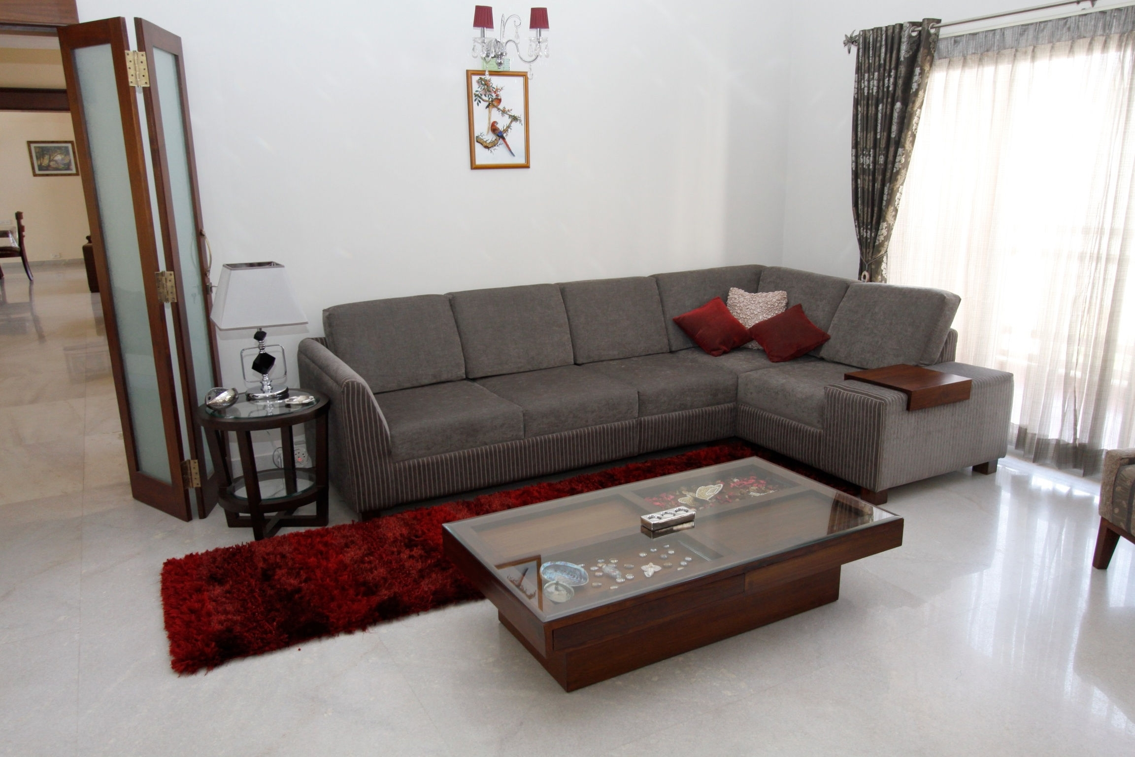Wood And Wicker With Regard To Sectional Sofas At Bangalore (View 19 of 20)
