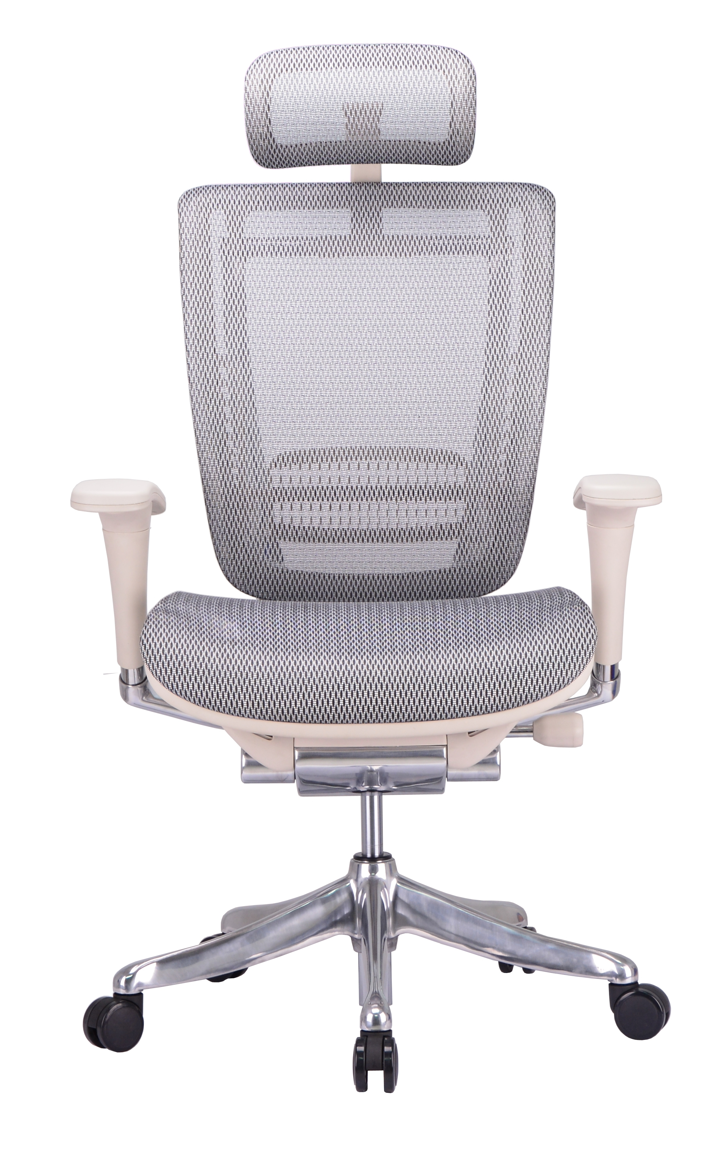 Xl Executive Office Chairs Regarding Most Recently Released Gm Seating Enklave Xl Gray Mesh Executive Hi Swivel Chair Chrome (View 19 of 20)