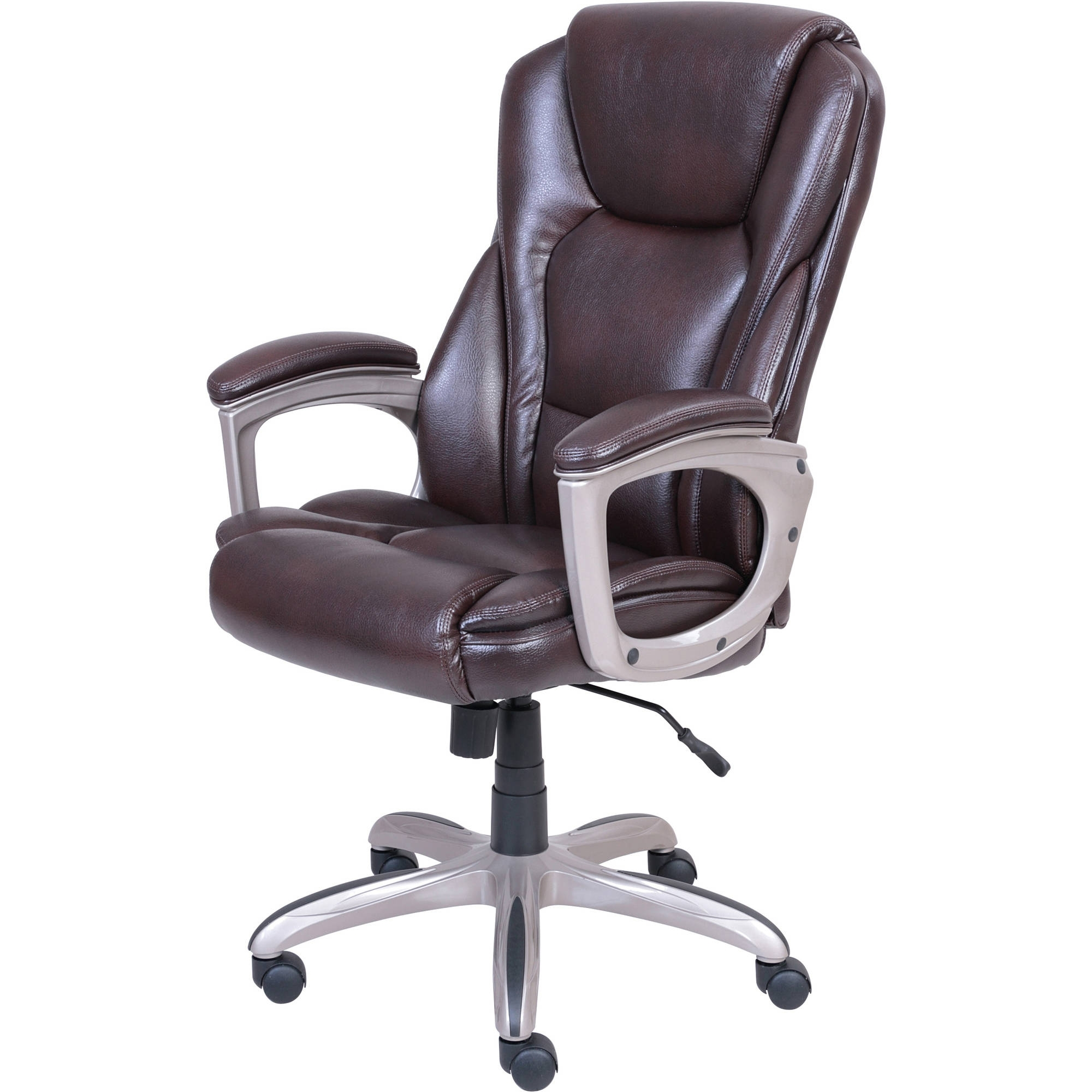 Xl Executive Office Chairs Throughout Famous Serta Big & Tall Commercial Office Chair With Memory Foam (Gallery 7 of 20)