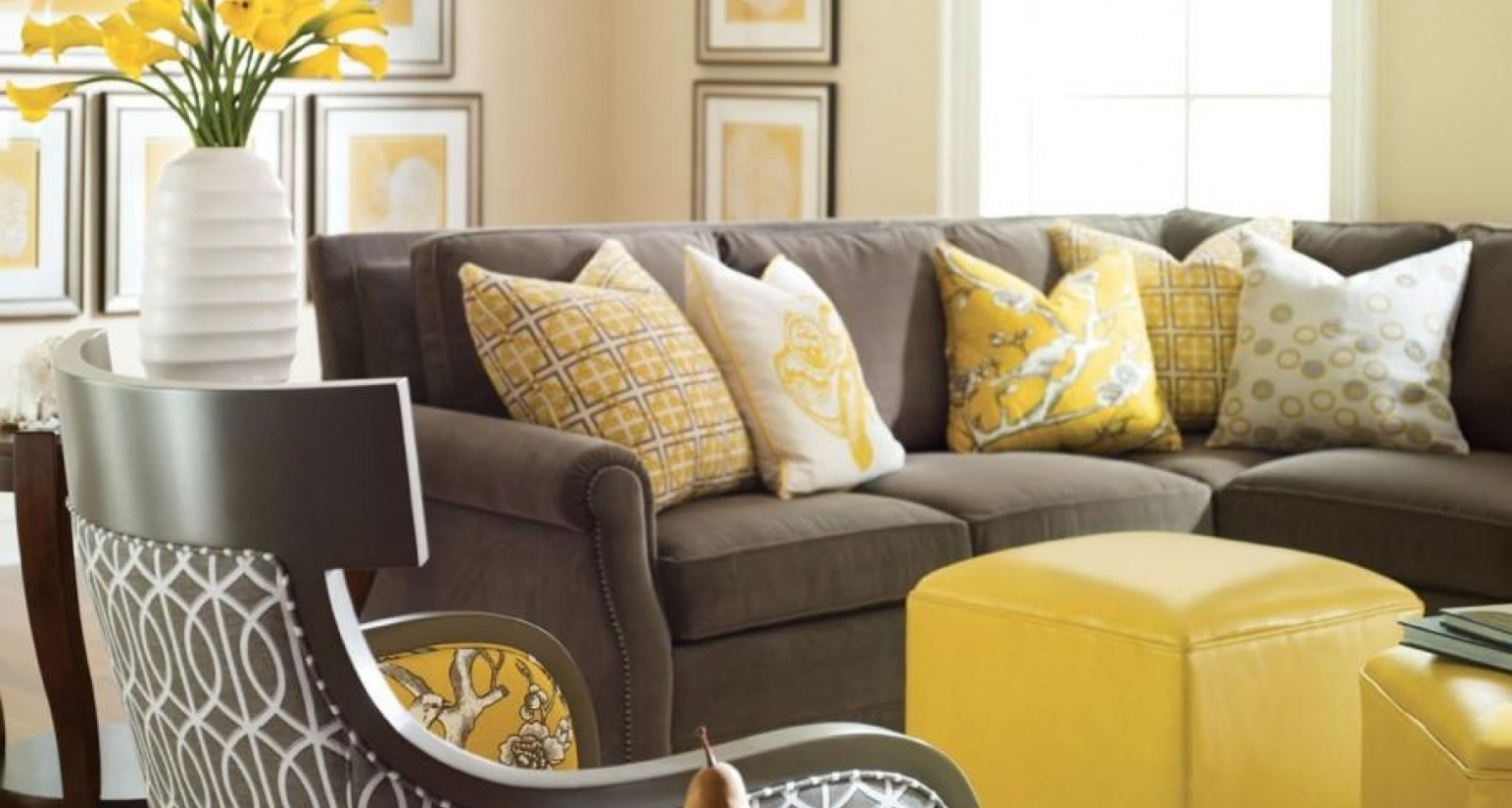 Yellow Sofa Chairs For Latest Sofa : Furniture Shoot Yellow Sofa Brilliant Yellow Modern Sofa (View 17 of 20)