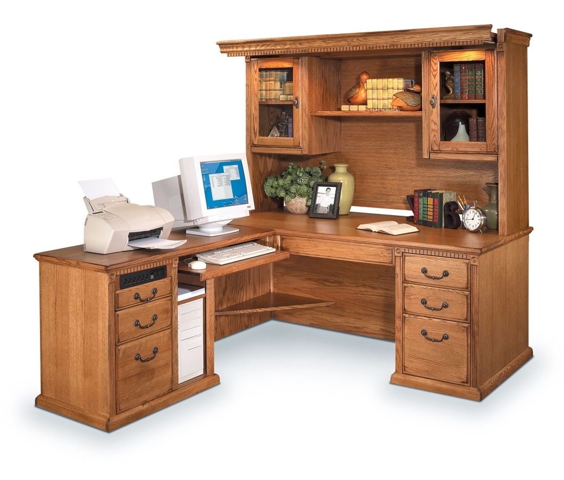 Youth Computer Desks With Regard To 2018 Desks : Youth Desk With Hutch L Shaped Computer Desk With Drawers (View 18 of 20)