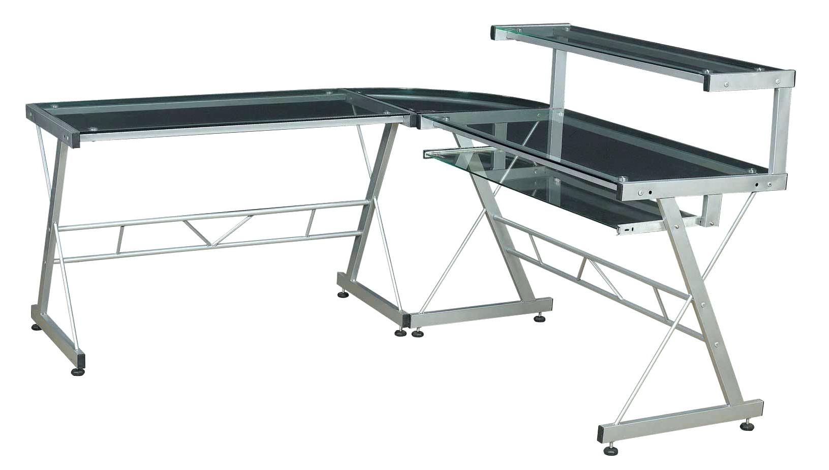 Z Line Computer Desks With Regard To Well Known Z Line Computer Desk Slimline Desktop Cases Corner Matrix (Gallery 16 of 20)