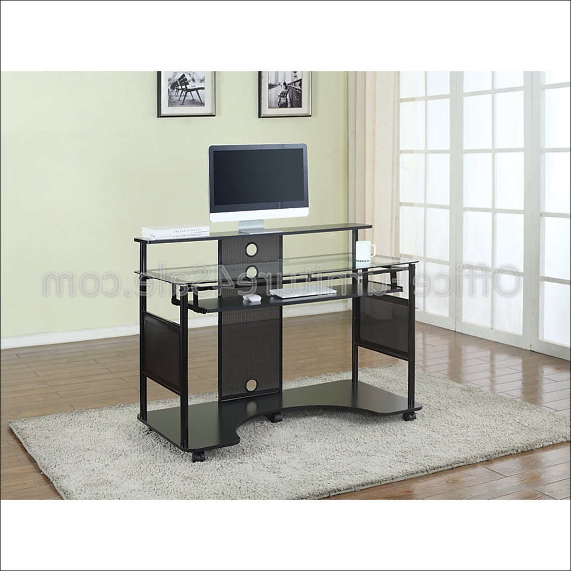 "Z Line Designs Outlet Mobile Workstation Desk, 36""h X 48""w X 26""d Throughout Well Liked Z Line Computer Desks (View 14 of 20)"