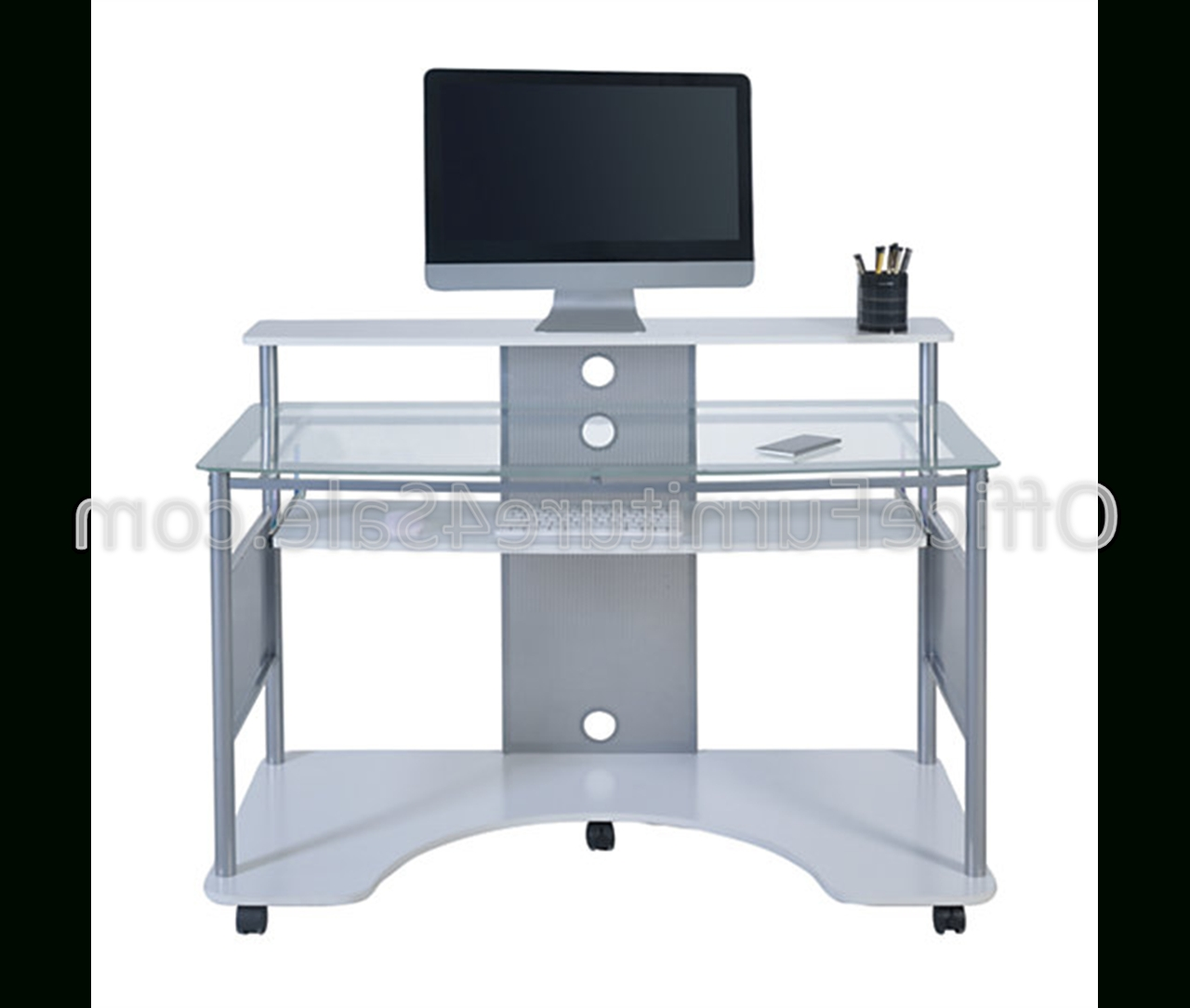 "Z Line Designs Outlet Mobile Workstation Desk, 36""h X 48""w X 26""d With Regard To 2018 Z Line Computer Desks (View 12 of 20)"