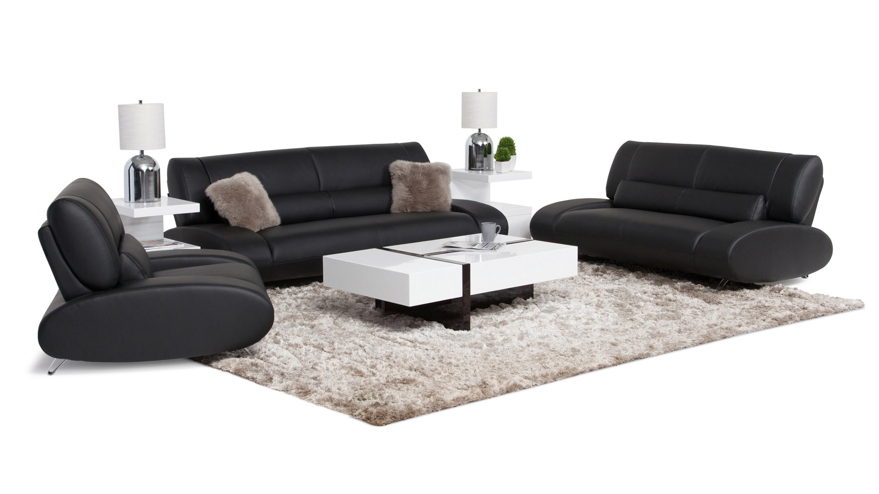 Zuri Furniture Within Aspen Leather Sofas (View 20 of 20)