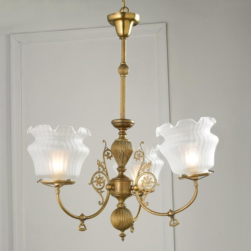2018 Antique Looking Chandeliers With Chandeliers : Antique Looking Chandeliers Converted Gas Chandelier (View 1 of 20)