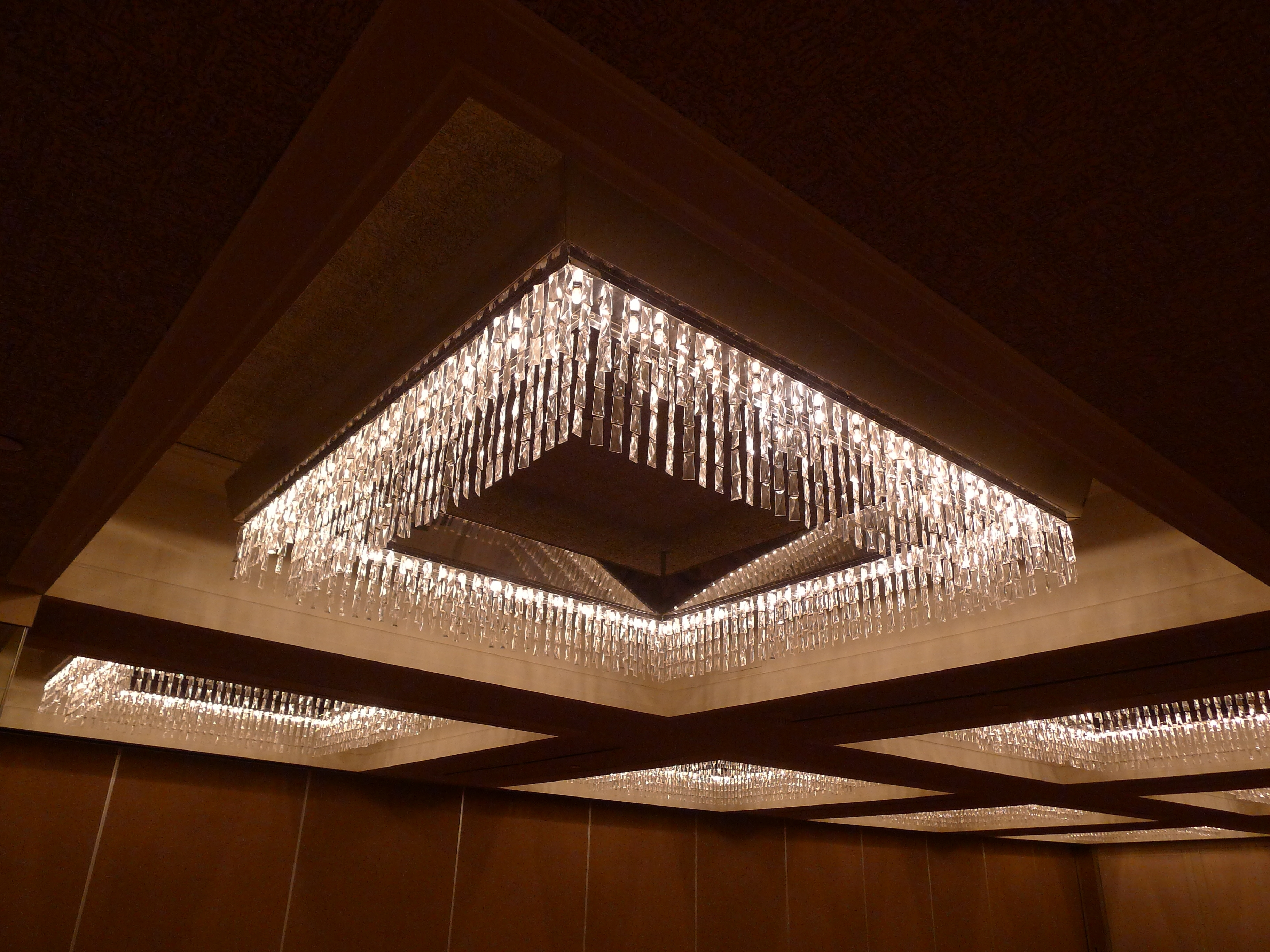 2018 Ballroom Chandeliers Inside Great Low Profile Chandelier With Lots Of Sparkle And Glamour (View 3 of 20)