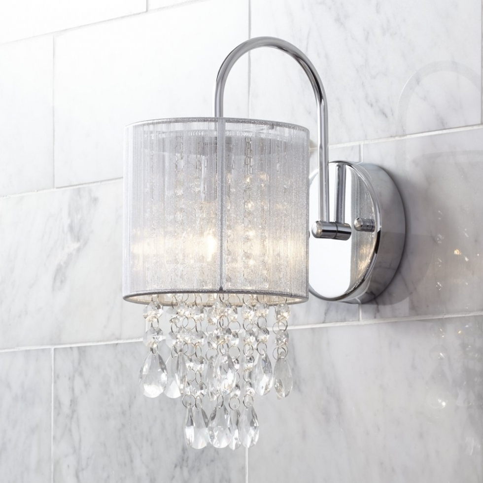 2018 Bathroom Chandelier Wall Lights For Chandelier ~ Crystal Bathroom Wall Lights Lighting Bronze And Makeup (View 5 of 20)