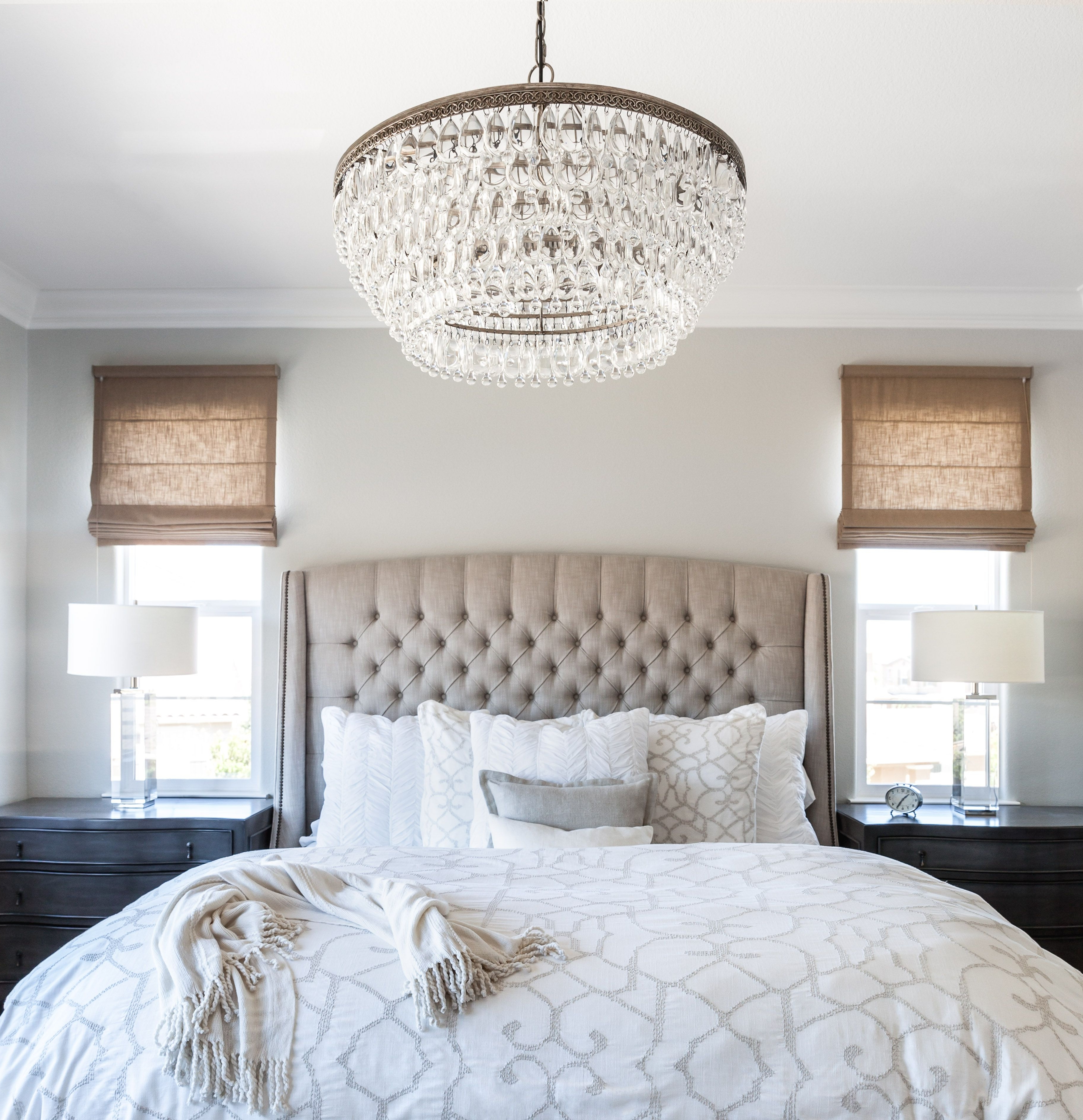 2018 Bedroom Chandeliers Inside Master Bedroom (View 1 of 20)
