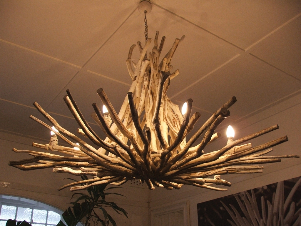 2018 Branch Chandeliers Within Awesome Tree Branch Chandelier : Tree Branch Chandelier Rustic Style (View 15 of 20)