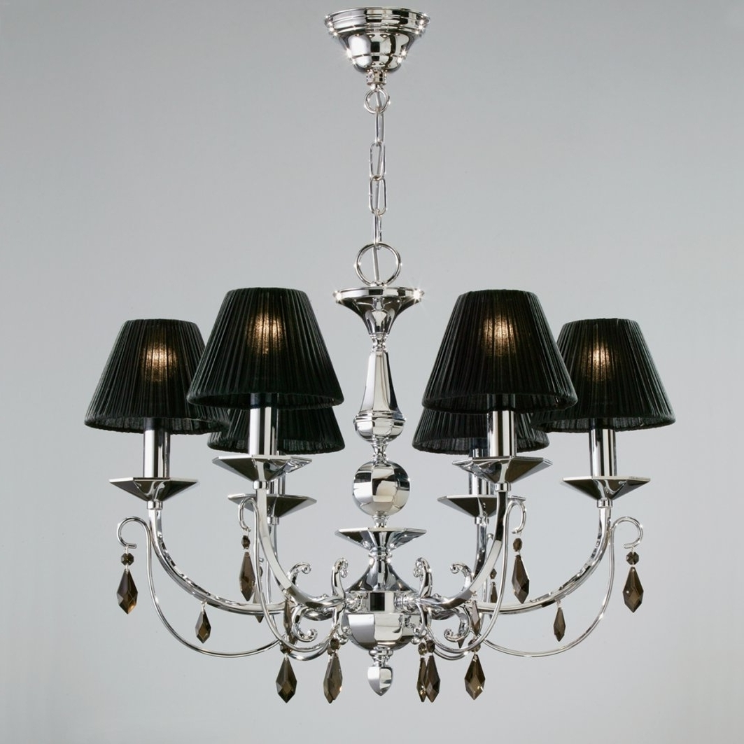2018 Chandelier Lampshades Pertaining To Black Chandelier Lamp Shades (View 5 of 20)