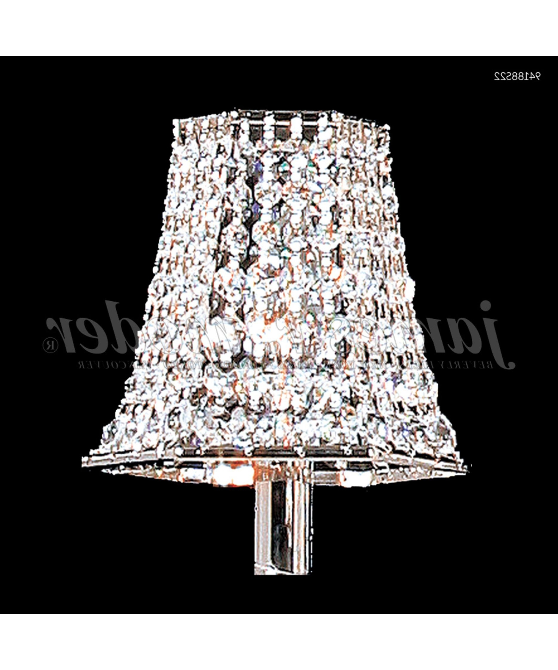 2018 Chandelier With Shades And Crystals With James R Moder Mini Lamp Shade Capitol Lighting Chandelier Shades (View 19 of 20)