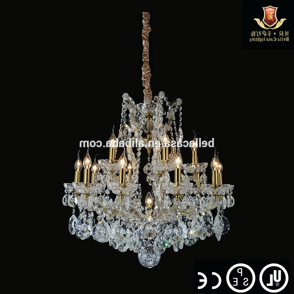 2018 Chandeliers ~ Plug In Hanging Chandelier Plug In Swag Chandelier Pertaining To Faux Crystal Chandelier Wedding Bead Strands (View 8 of 20)