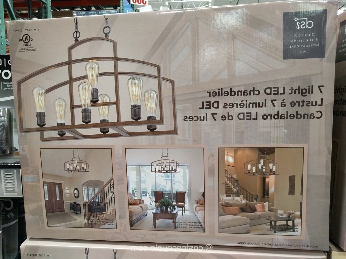 2018 Costco Lighting Chandeliers With Costco Chandelier Bedroom – Closdurocnoir (View 9 of 20)